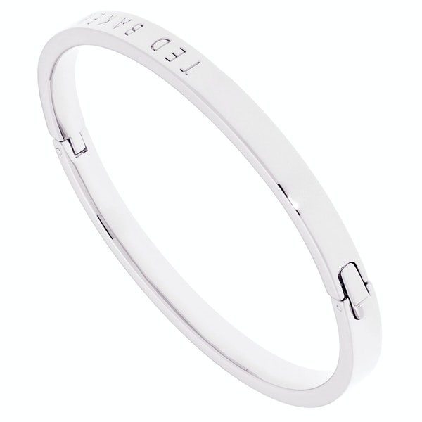 Ted Baker Clemina Hinge Metallic Bangle Bracelet
