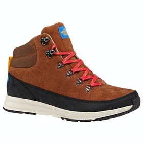 North Face Back-To-Berkeley Redux Lux Boots - Caramel Cafe TNF Black