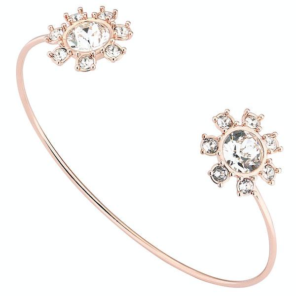 Ted Baker Cescel Daisy Clockwork Ultra Fine Cuff Bracelet