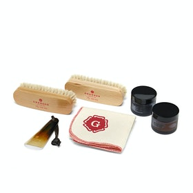 Grenson William Green Wax Kit Garment Proof - N.a