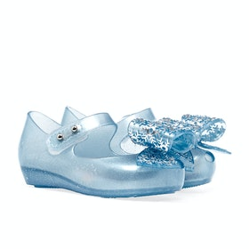 Melissa Mini Disney Frozen Ultra Girl's Sandals - Sky Glitter Frost Bow