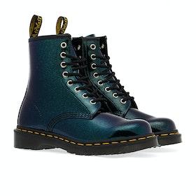Dr Martens 1460 Sparkle Women's Boots - Teal/pacific Sparkle