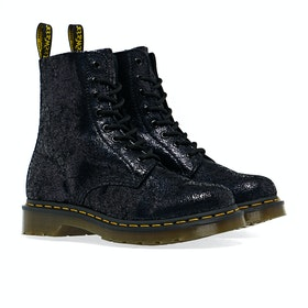 Stivali Donna Dr Martens 1460 Pascal - Black Iridescent Crackle