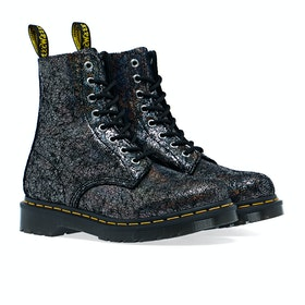 Dr Martens 1460 Pascal Women's Boots - Gunmetal Iridescent Crackle