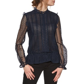 Ted Baker Comsee Dames Top - Dark Blue