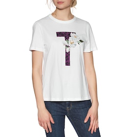Ted Baker Delilai Dames Top - White