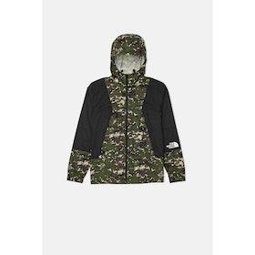 North Face Capsule Mountain Light Windshell Jacket - English Green UX Digi Camo Print