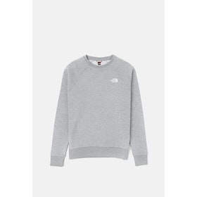 Maglione North Face Capsule Raglan Redbox Crew - TNF Grey Heather English Green UX Digi Camo Print