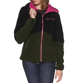 Oakley Elsa Thermal Hooded Womens Fleece - Blackout