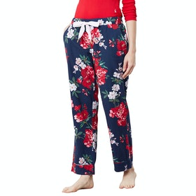 Joules Snooze Woven Bottoms Women's Pyjamas - Navy Floral