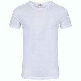 T-Shirt de Manga Curta Vivienne Westwood Undershirt - White