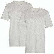 Calvin Klein Crew Neck 2 Pack Men's Short Sleeve T-Shirt