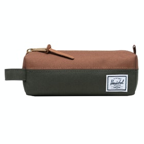 Herschel Settlement Accessory Case - Dark Olive/saddle Brown