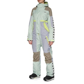 Burton One peace Womens Snowsuit - Aquagr/lilac/tmbwlf