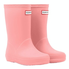 Hunter First Classic Kids Wellingtons - California Sea Shelly