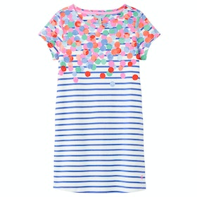 Joules Riviera Girl's Dress - Blusptstrp