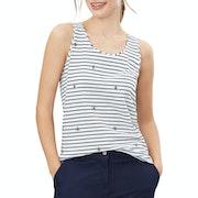 Joules Bo Print Women's Tank Vest