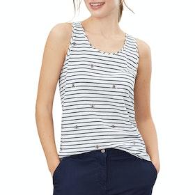 Joules Bo Print Women's Tank Vest - Bee Stripe