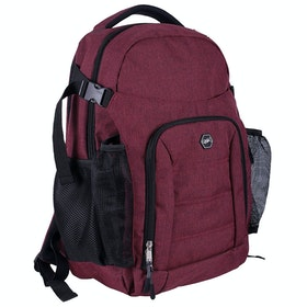 QHP Classic Backpack - Burgundy