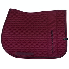 QHP Dublin Saddlepads - Burgundy