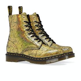 Dr Martens 1460 Pascal Women's Boots - Gold Iridescent Crackle