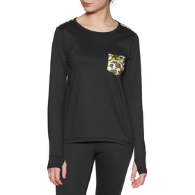 Burton Tech Womens Long Sleeve T-Shirt - True Black