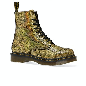 Dr Martens 1460 Pascal Womens Boots - Gold Iridescent Crackle