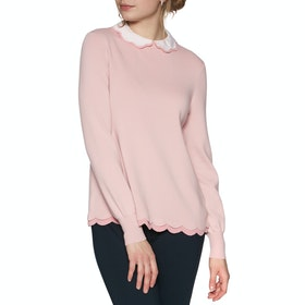 Ted Baker Lheo Womens Knits - Pale Pink