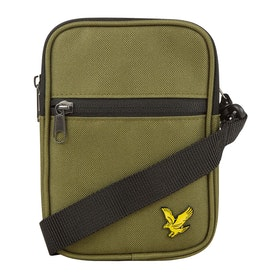 Lyle & Scott Vintage Mini Messenger-Tasche - Green