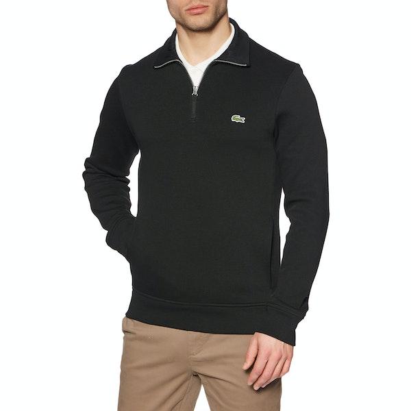 Lacoste Rib Interlock Sweter