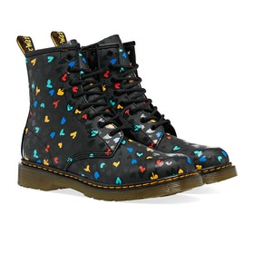 Dr Martens 1460 Hearts Kinder Stiefel - Heart Custom Chaos K Hydro
