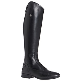 Long Riding Boots Mark Todd Leather Field - Black