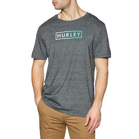 T-Shirt à Manche Courte Hurley Siro Boxed Gradient - Black Htr