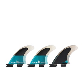 FCS II Performer Performance Core Thruster Fin - Teal Black
