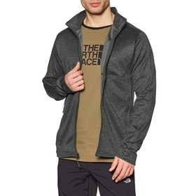 North Face Canyonlands Full Zip , Softshelljakke - TNF Dark Grey Heather