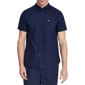 Lyle & Scott Vintage Oxford Kurzarmhemd - Navy
