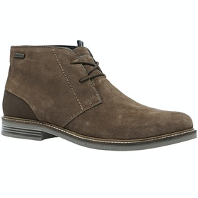 Barbour Readhead Mens Boots - Caramel Suede