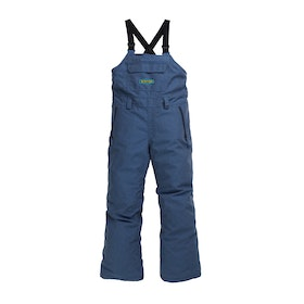 Burton Youth Skylar Bib Boys Snow Pant - Light Denim