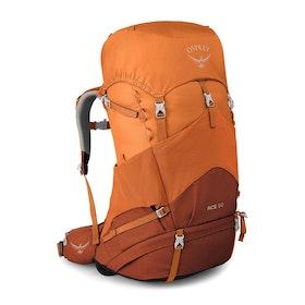 Osprey Ace 50 Kids Hiking Backpack - Orange Sunset