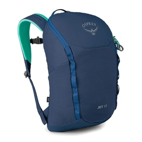 Osprey Jet 12 Kids Hiking Backpack - Wave Blue