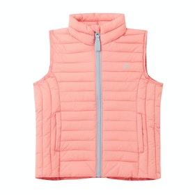 Joules Croft Girls Body Warmer - Pink