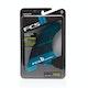 FCS II Performer Neo Glass Teal Gradient Quad Fin