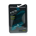 FCS II Performer Neo Glass Teal Gradient Tri-Quad Fin
