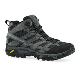Merrell Moab 2 Leather Mid GTX Walking Boots - Granite