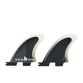 FCS Reactor Performance Core Quad Rear Fin - Charcoal Black