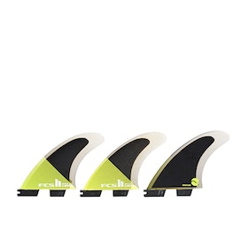 FCS II Carver Performance Core Thruster Fin - Acid Black