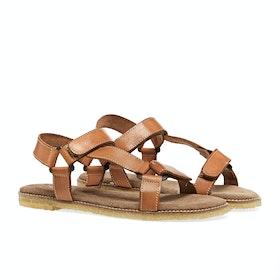 Sandali Donna Penelope Chilvers Alma Leather Crepe - Tan