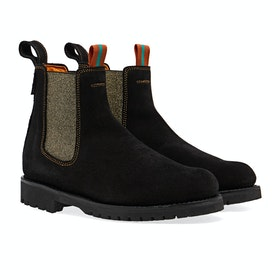Penelope Chilvers Nelson Suede Women's Boots - Black Gold