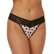 Hanky Panky Graffiti Hearts Original Rise Women's Thong