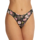 Hanky Panky Shadow Roses Original Rise Women's Thong